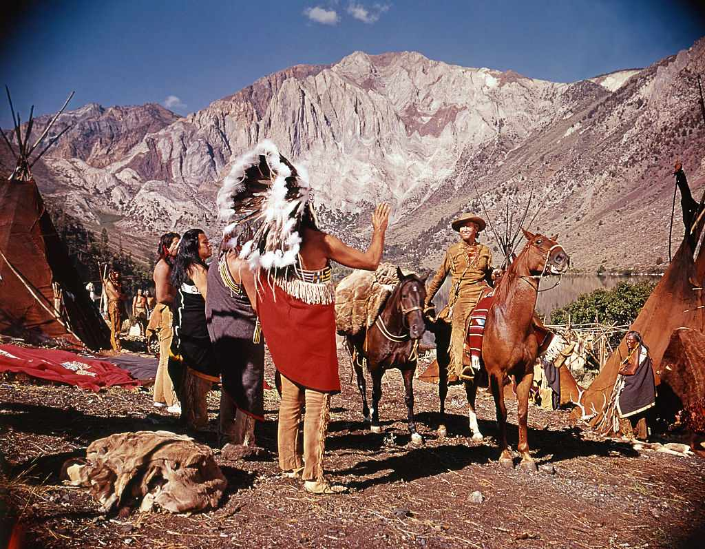 On the set of How the West Was Won