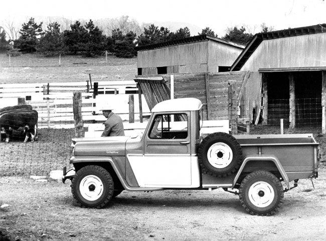 1960 Jeep Pickup Truck