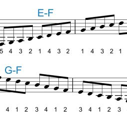 Piano Fingering for the Left Hand