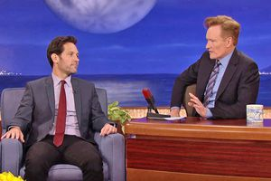 Paul Rudd on Conan, with Conan O'Brien