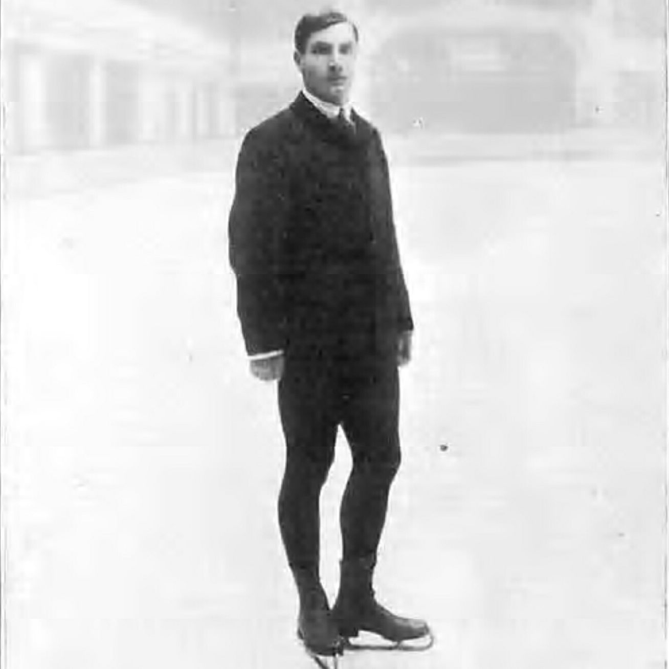 Ulrich Salchow at 1908 Summer Olympics in London