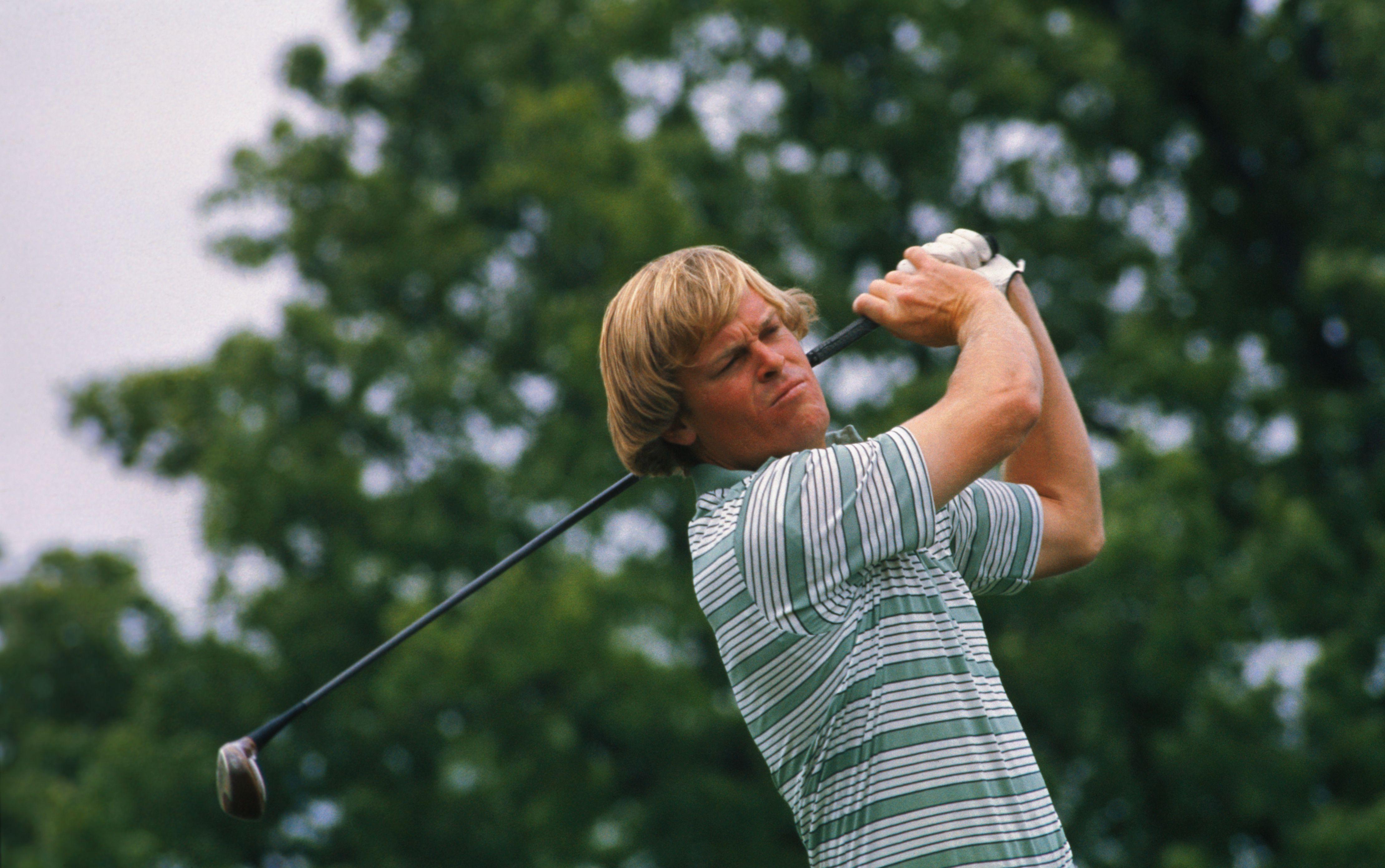 Golfer Johnny Miller in 1976