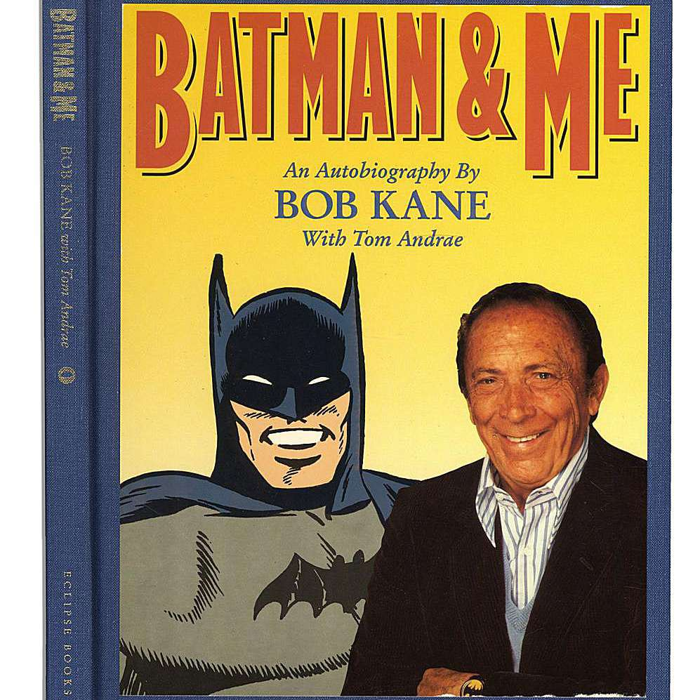 Cover of Bob Kane's autobiography