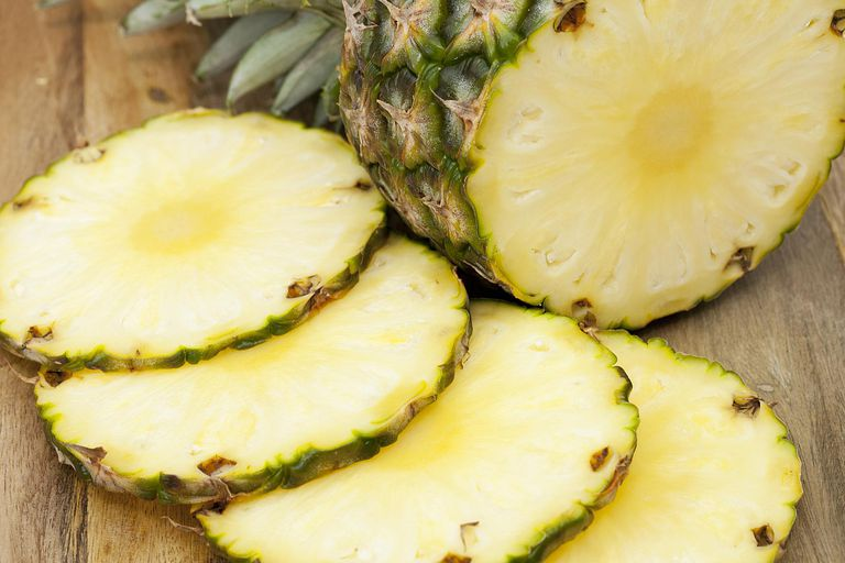 Pineapple can be used in an exfoliating mask.