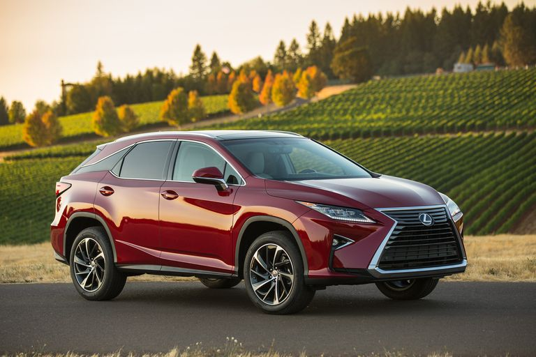 Lexus' Sport Utility Vehicles and Crossovers