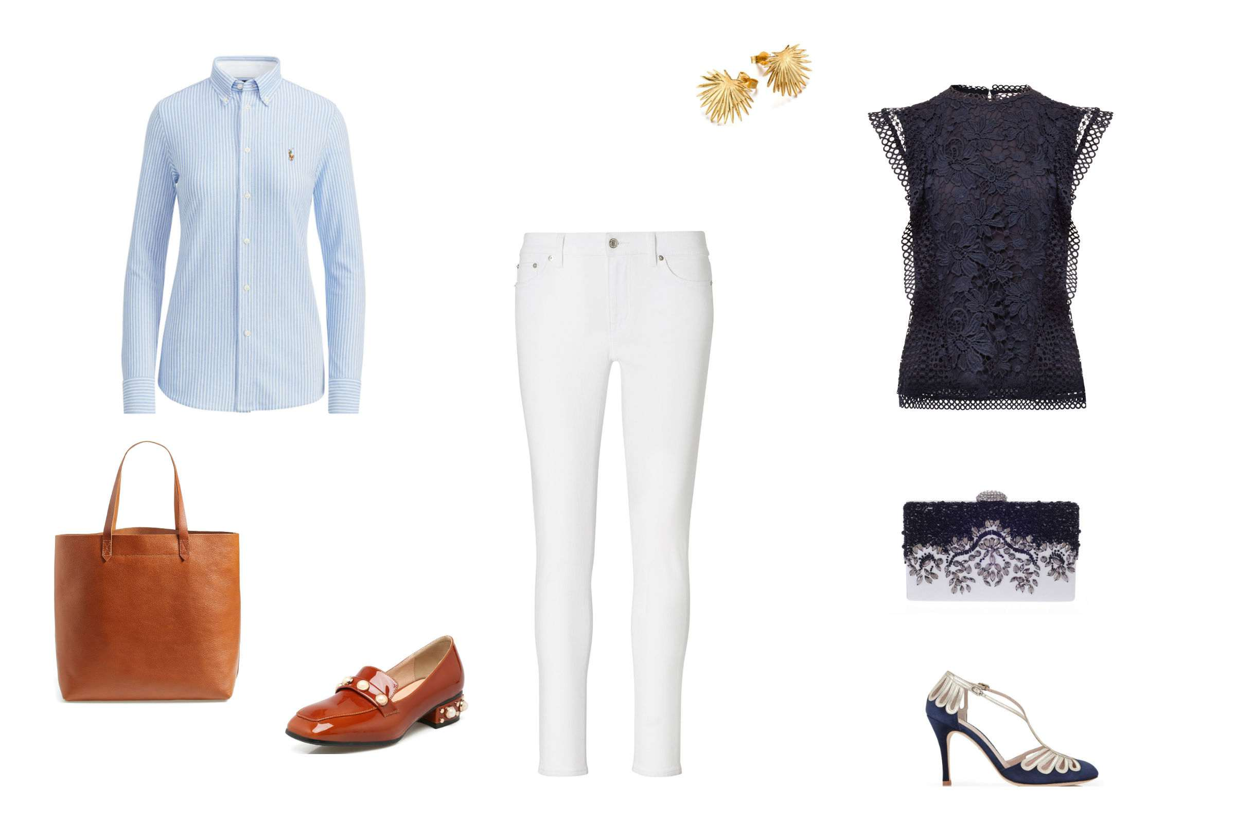 10 Ways to Dress Up Jeans for a Night Out