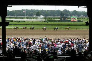 Saratoga Springs Race Course opening weekend, 2003