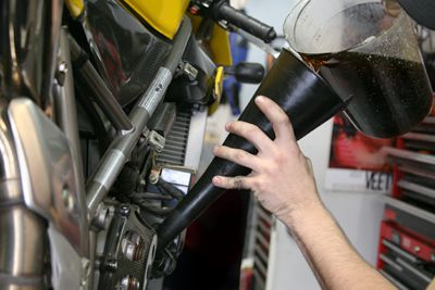How to Change Your Motorcycle's Engine Oil