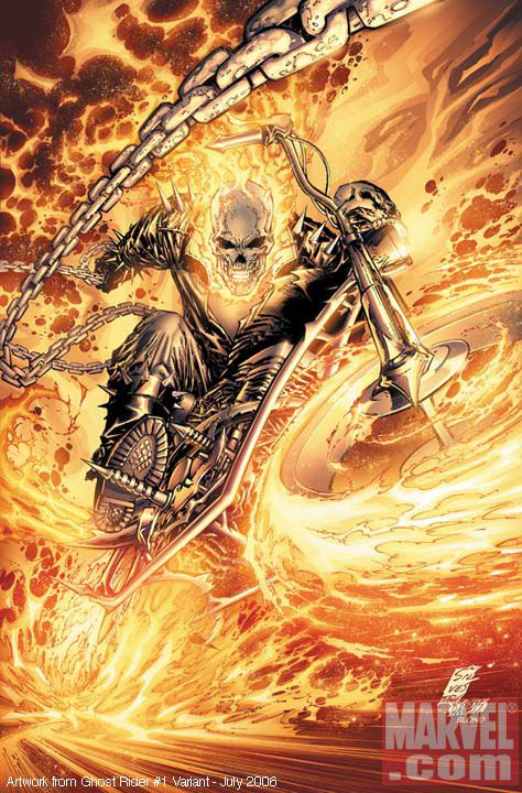 Ghost Rider Character Profile - Johnny Blaze