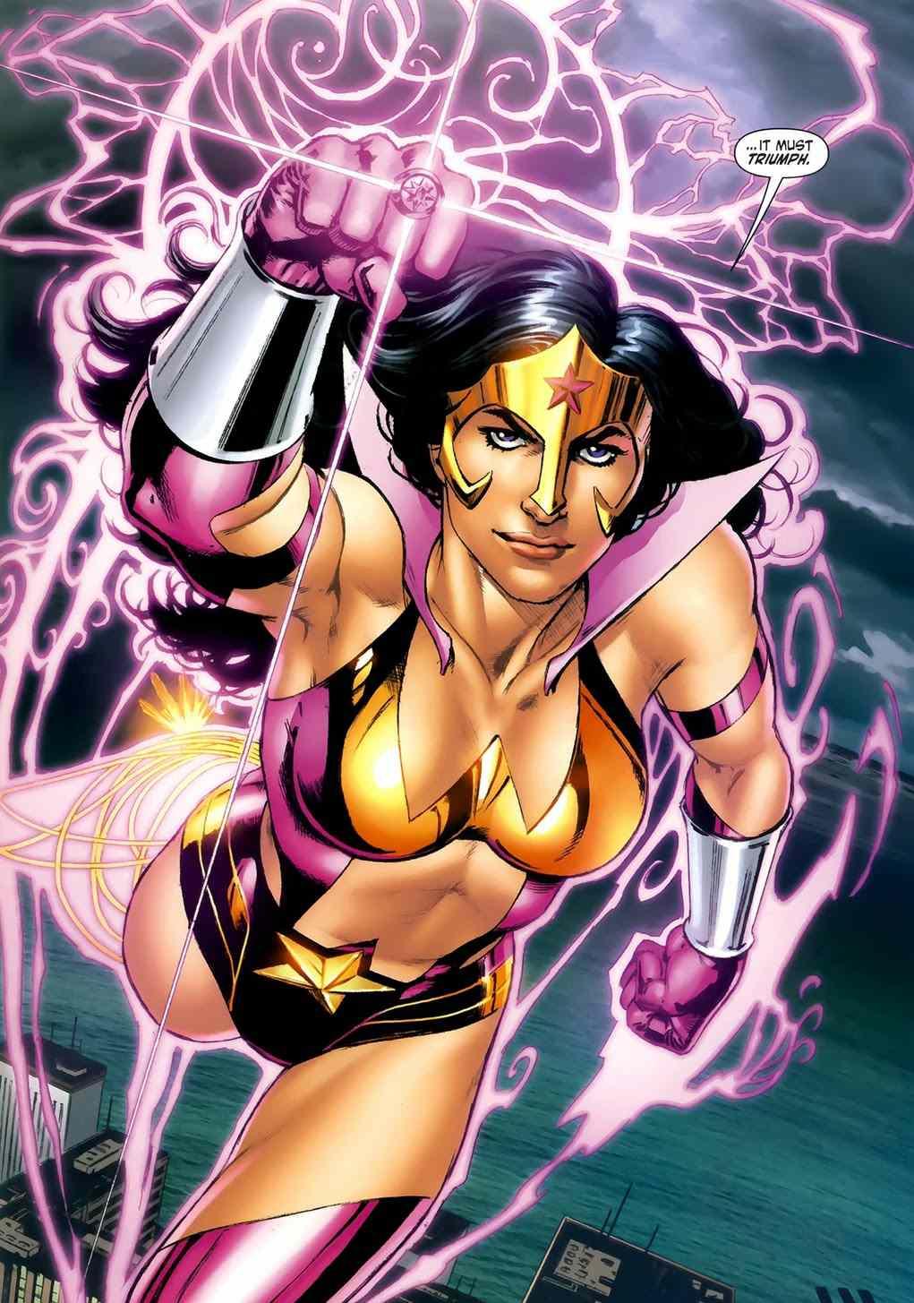 Star Sapphire Wonder Woman by Nicola Scott