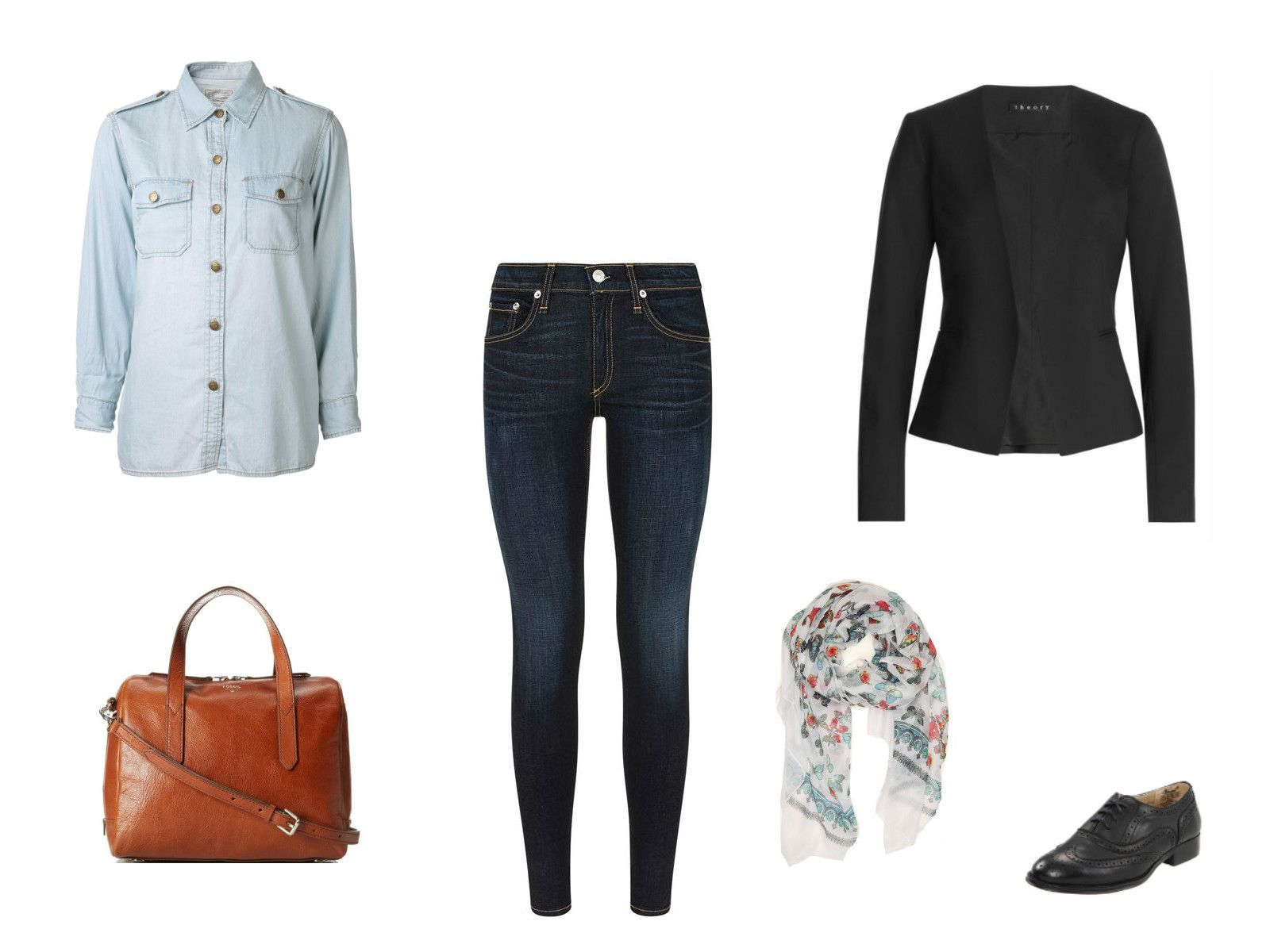 The Denim Shirt How To Wear It 12 Different Ways