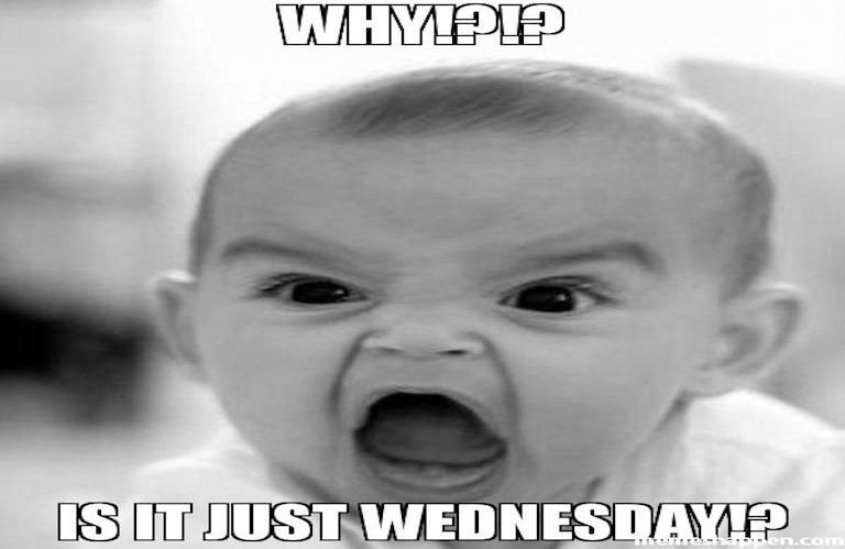 why!?!? is it just wednesday meme