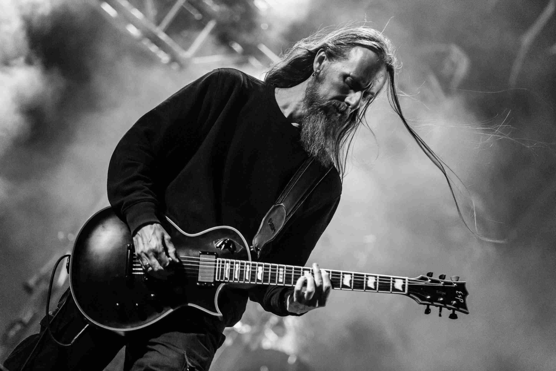 The Norwegian black metal band Emperor at Party.San Metal Open Air 2018