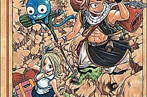 Fairy Tail Volume 1 by Hiro Mashima, published by Del Rey Manga