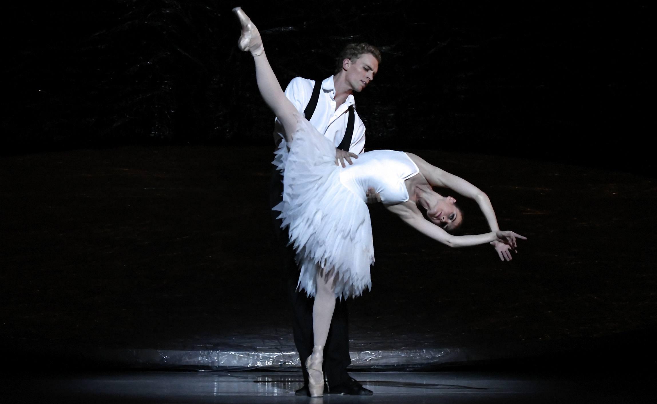ballet performance of Swan Lake
