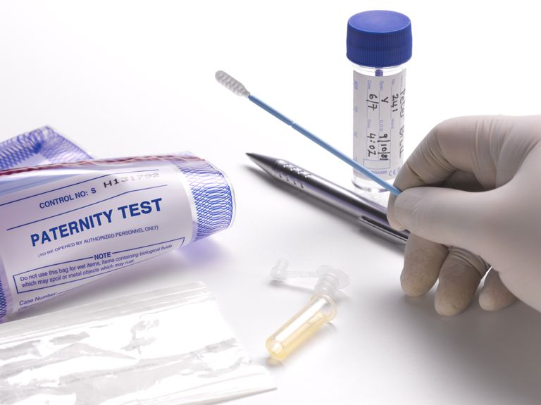 A DNA test used to demonstrate proof of paternity