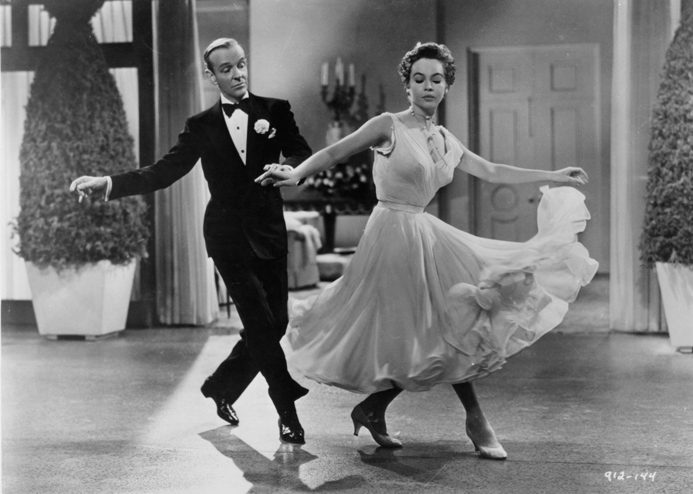 Fred Astaire and Leslie Caron