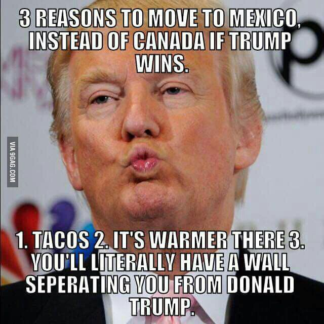 Moving To Mexico If Trump Wins