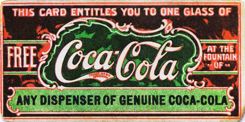 First Coupon Coca-Cola