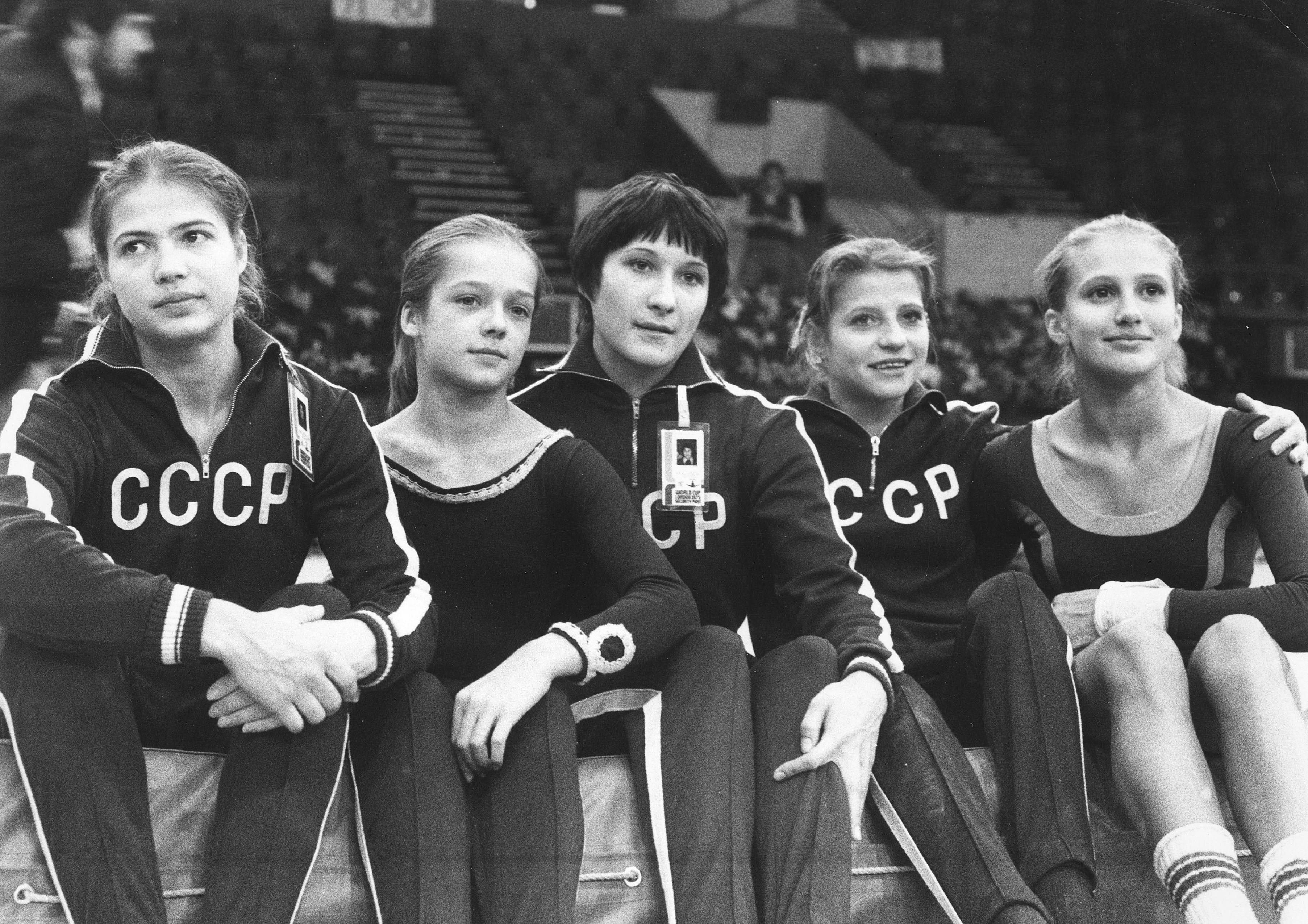 Ludmilla Tourischeva, Olga Korbut, Soviet gymnasts