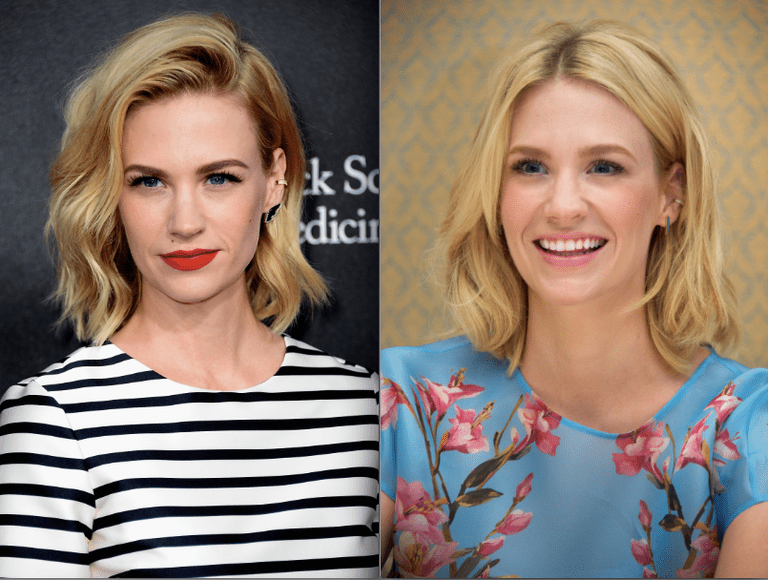 The Most Flattering Length On Everyone January Jones Getty Images Shoulder Hair