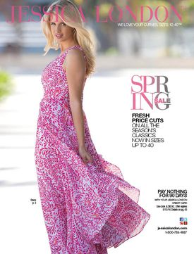 Jessica London catalog cover