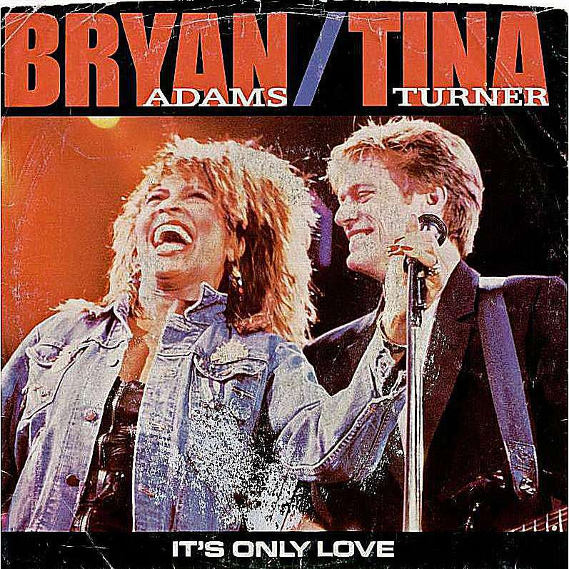"""The duet partnership of Tina Turner and Bryan Adams turned out to be a solid one, in part as a result of the high quality of the song they sang together - """"It's Only Love."""""""