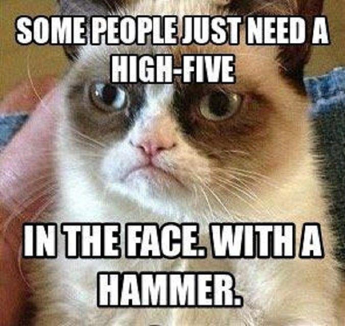 Face High Five