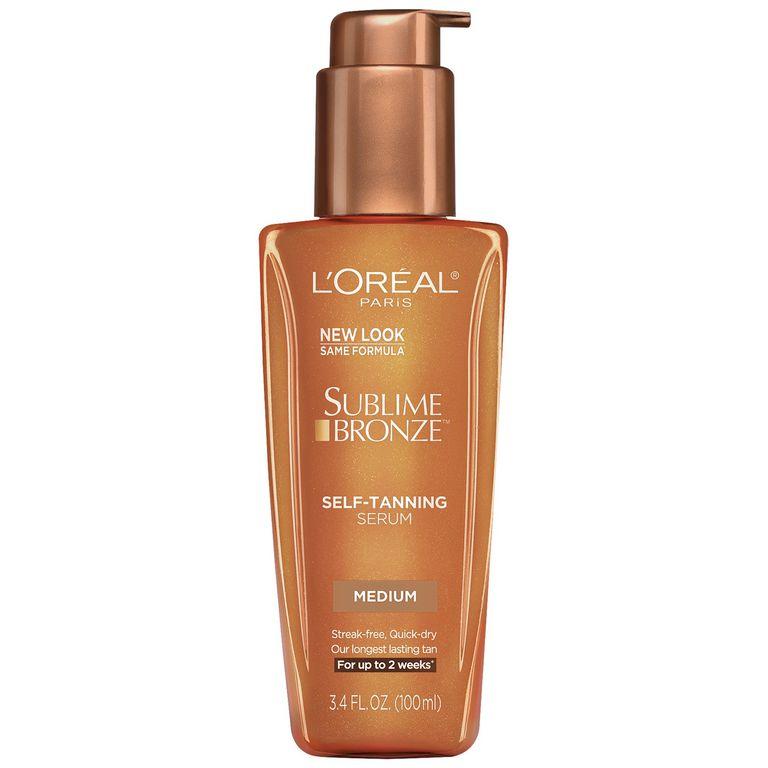 31e4035a46a7 Best Budget  L Oreal Paris Sublime Bronze Self-Tanning Serum