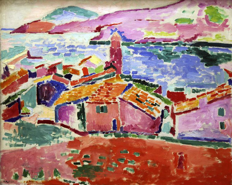 View of Colliure, c1905, Henri Matisse