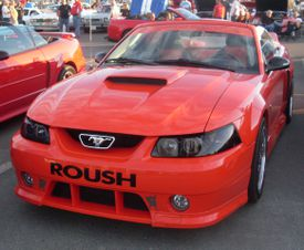Ford Roush Mustang photographed in Laval, Quebec, Canada