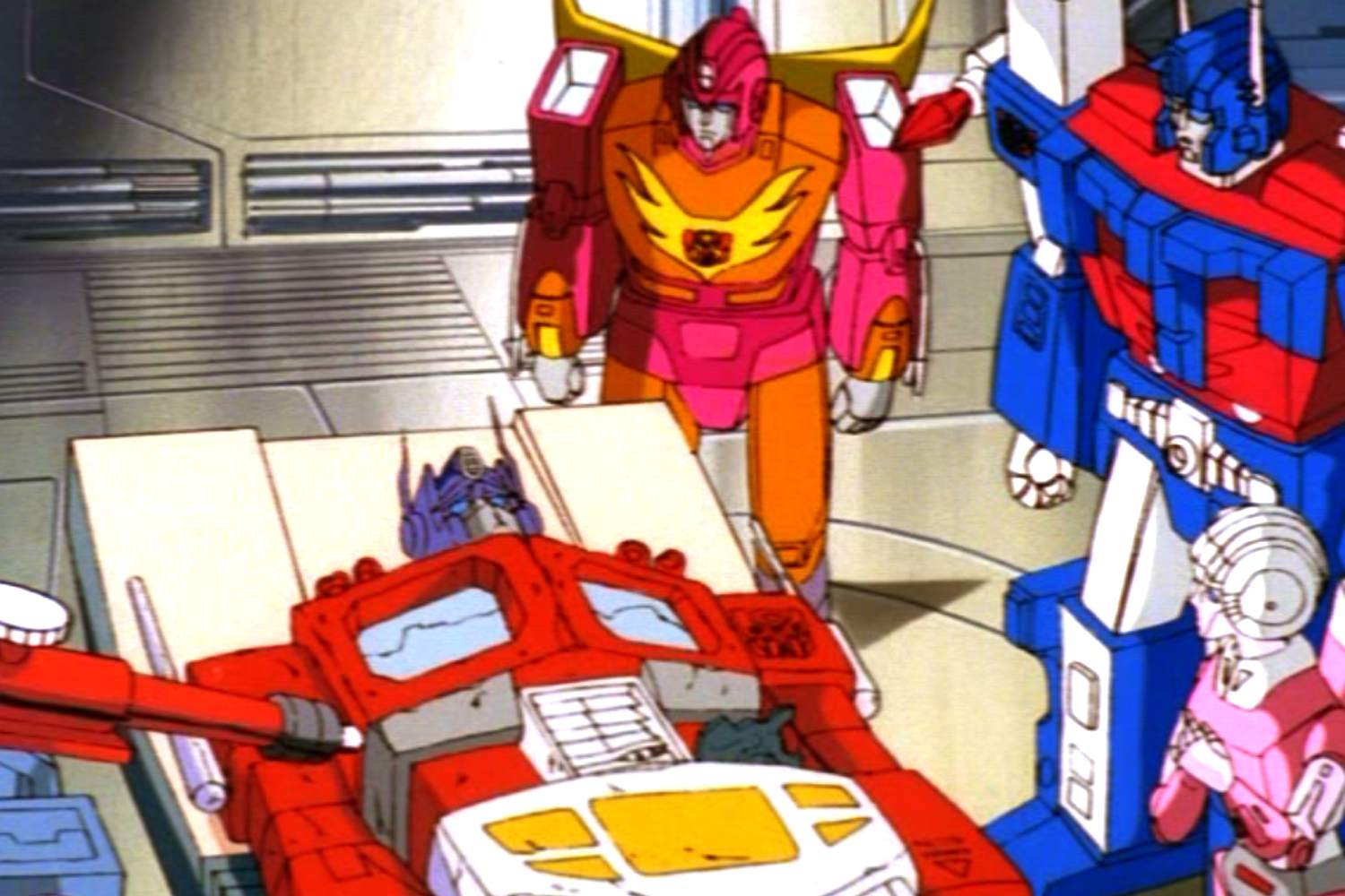 The death of Optimus Prime in Transformers The Movie.