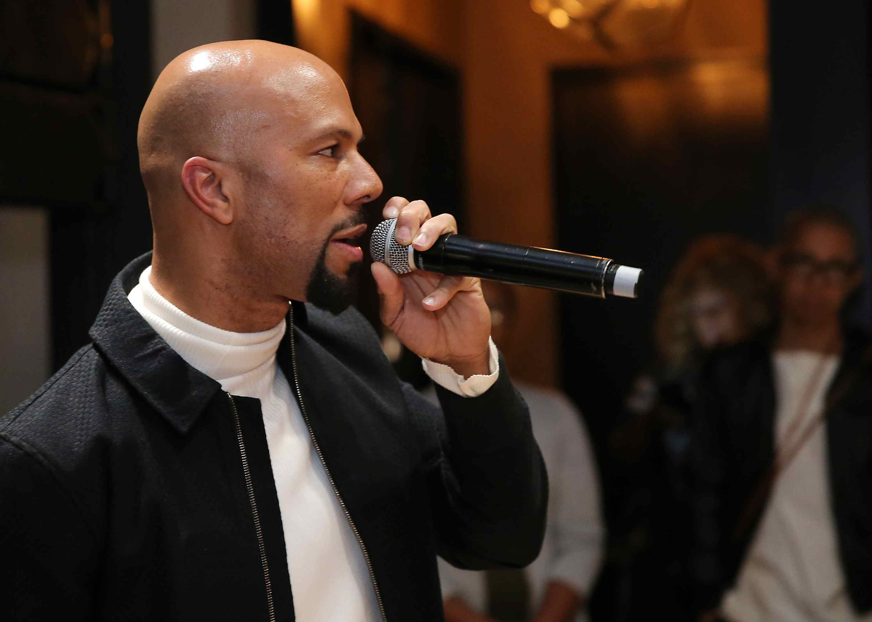 Common 'Black America Again' Listening Party