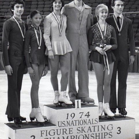 US National Pairs Medalists 1974