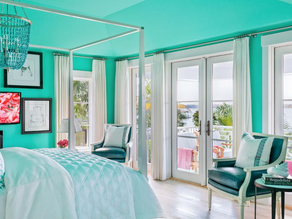 Photo of the Master Bedroom of the 2016 HGTV Dream Home