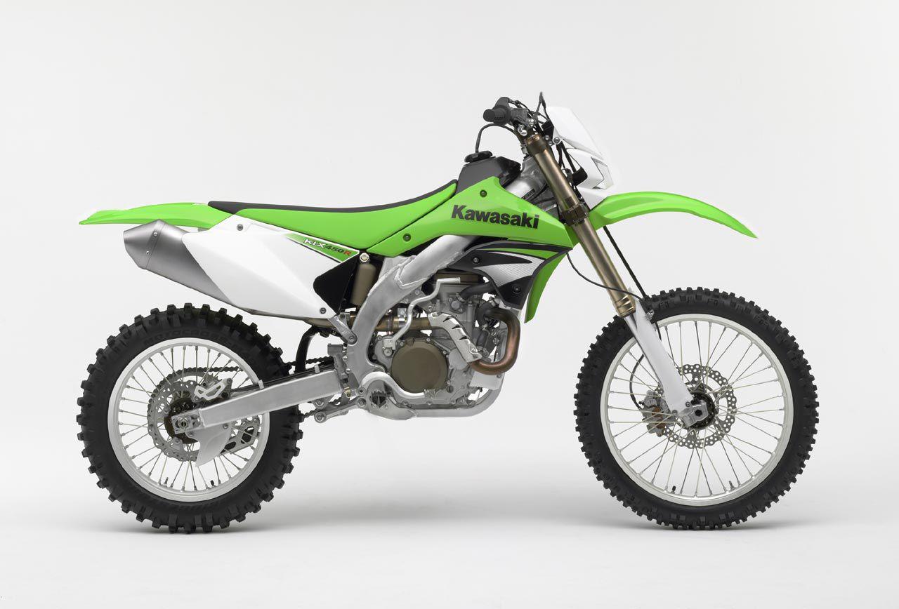 Kawasaki's KLX450 R.
