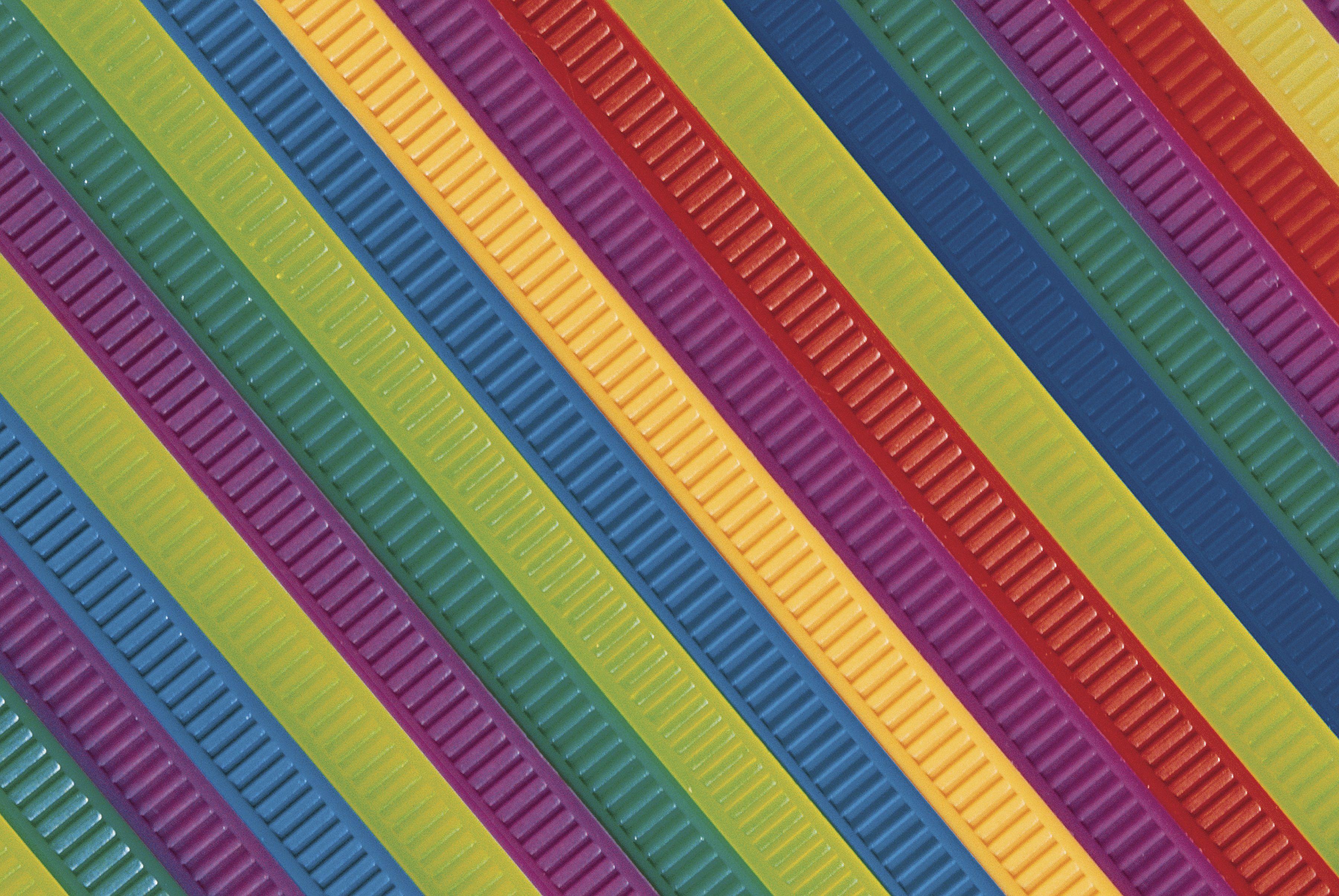 Zip Ties in a Rainbow of Colors