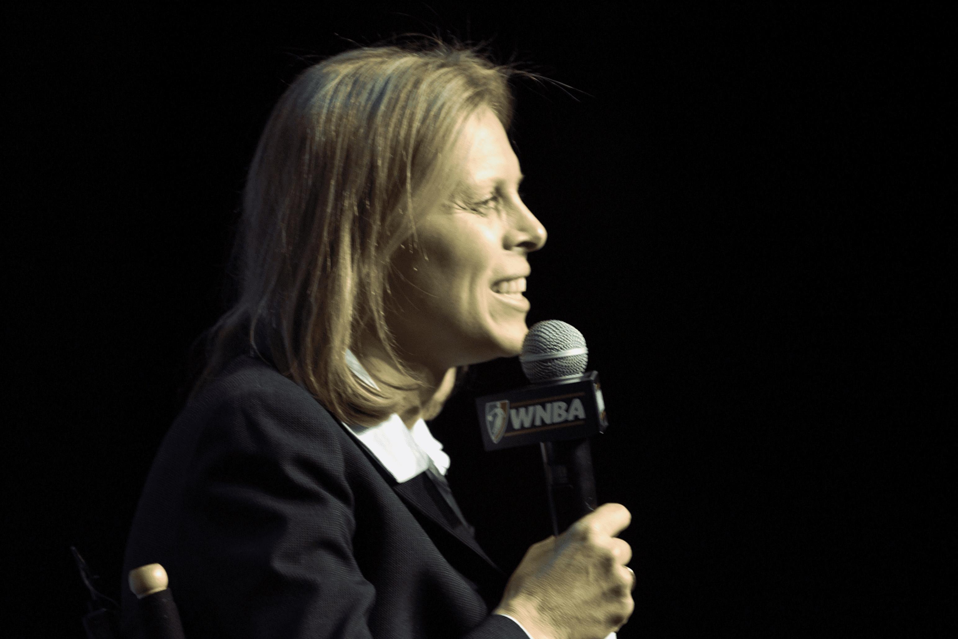 Valerie Ackerman, WNBA President, 2003