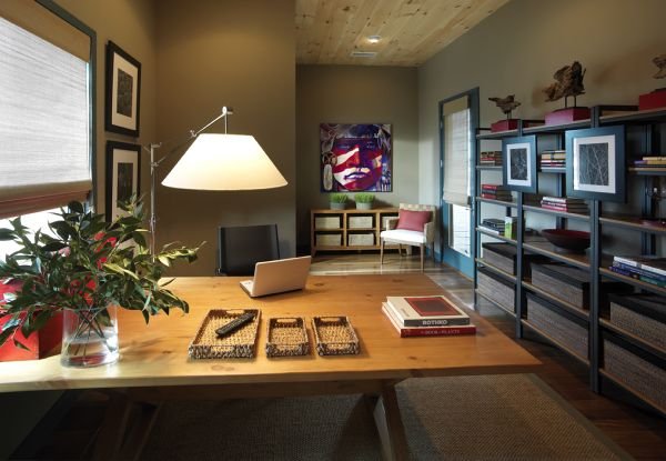 2010 HGTV Dream Home Photos - Picture of the Home Office