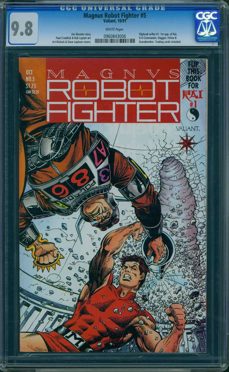 an example of a CGC-graded comic book