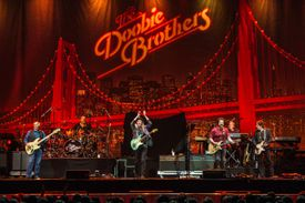 The Doobie Brothers perform during Blues Fest 2017