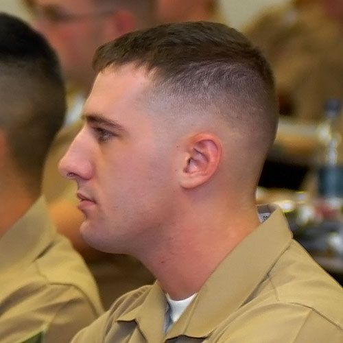Here Are 10 Pictures Of Men S Military Haircuts