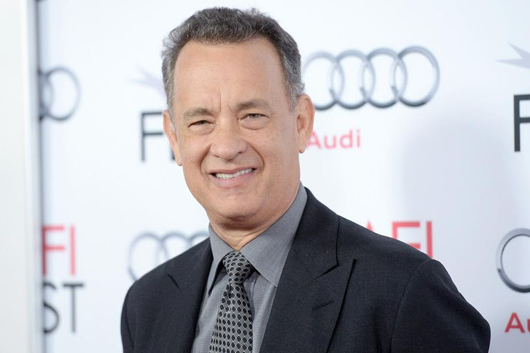 Portrait of Tom Hanks at an avent