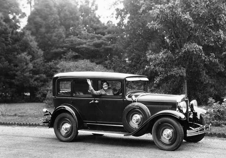 Hupmobile car, (c1925-c1935?).