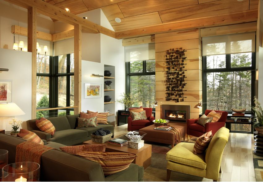Photo of the 2011 HGTV Dream Home's Gathering Room.