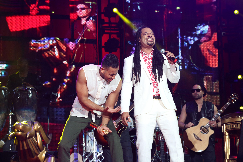 Romeo Santos and Luis Vargas