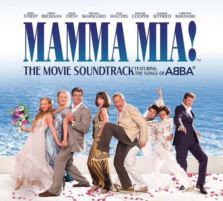 The cover of the Mamma Mia! soundtrack