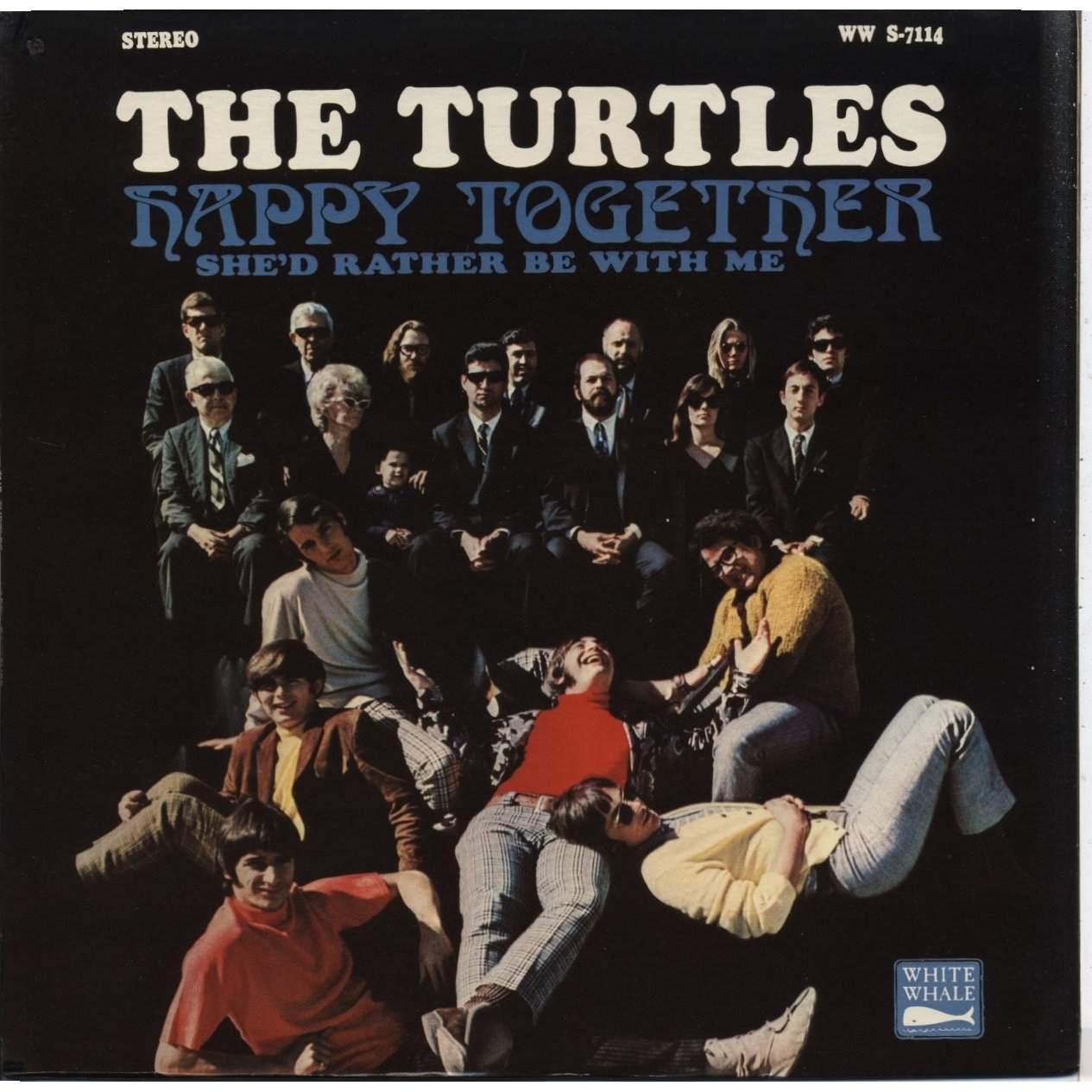 Turtles Happy Together