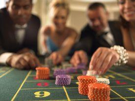 people gambling at casino