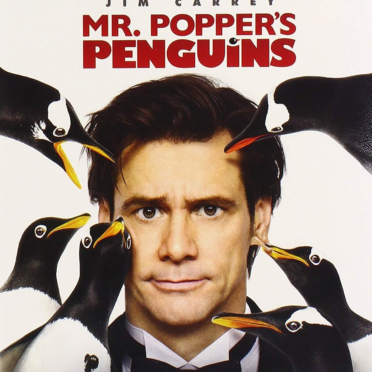 Mr.Popper's Penguins DVD cover